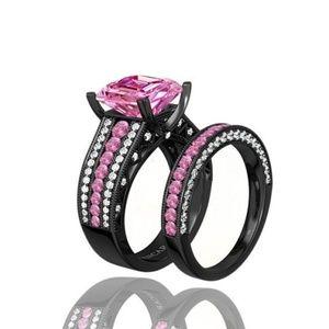 Jewelry - Beautiful Wedding Ring Set Size 6,7,8,9